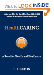 HealthCARING bookcover